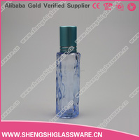 10ml small blue perfume cosmetic roll on bottle manufacturer