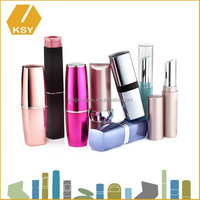 Luxury cosmetic plastic packaging box makeup case with lights