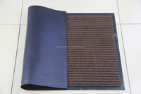 China supplier with PVC or rubber molded back brush mesh mat