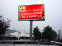 New product traffic sign price P10 full color outdoor led display/led screen/led display screen wireless queue system