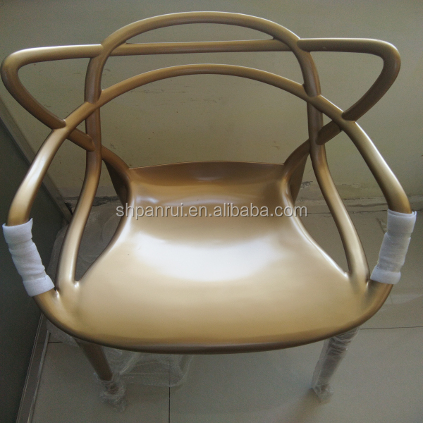 made in China best price master design popular moulded acrylic pc plastic chair