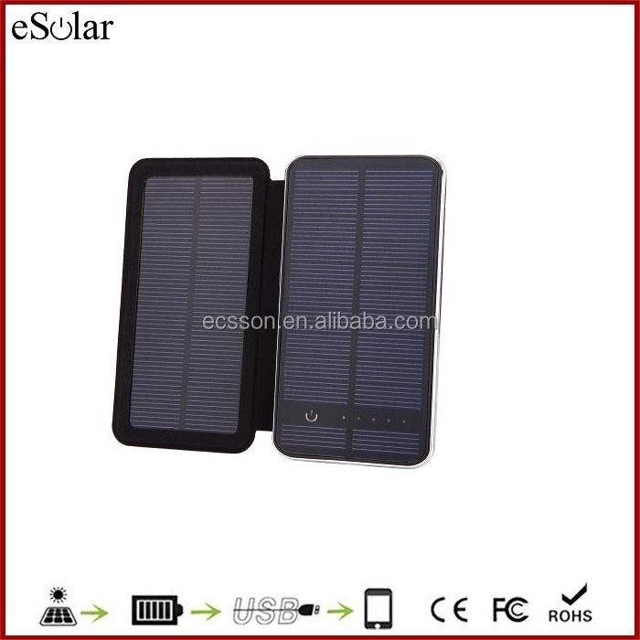 Portable Rechargeable Foldable Mobile Solar Charger For Mobile Phone Iphone Solar Charger