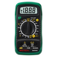 Wholesale MASTECH MAS830L Pocket Digital Multimeters Electrical Meter Earth Resistance AC/DC Tester