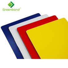 Greenbond plastic wall covering outdoor wall panels