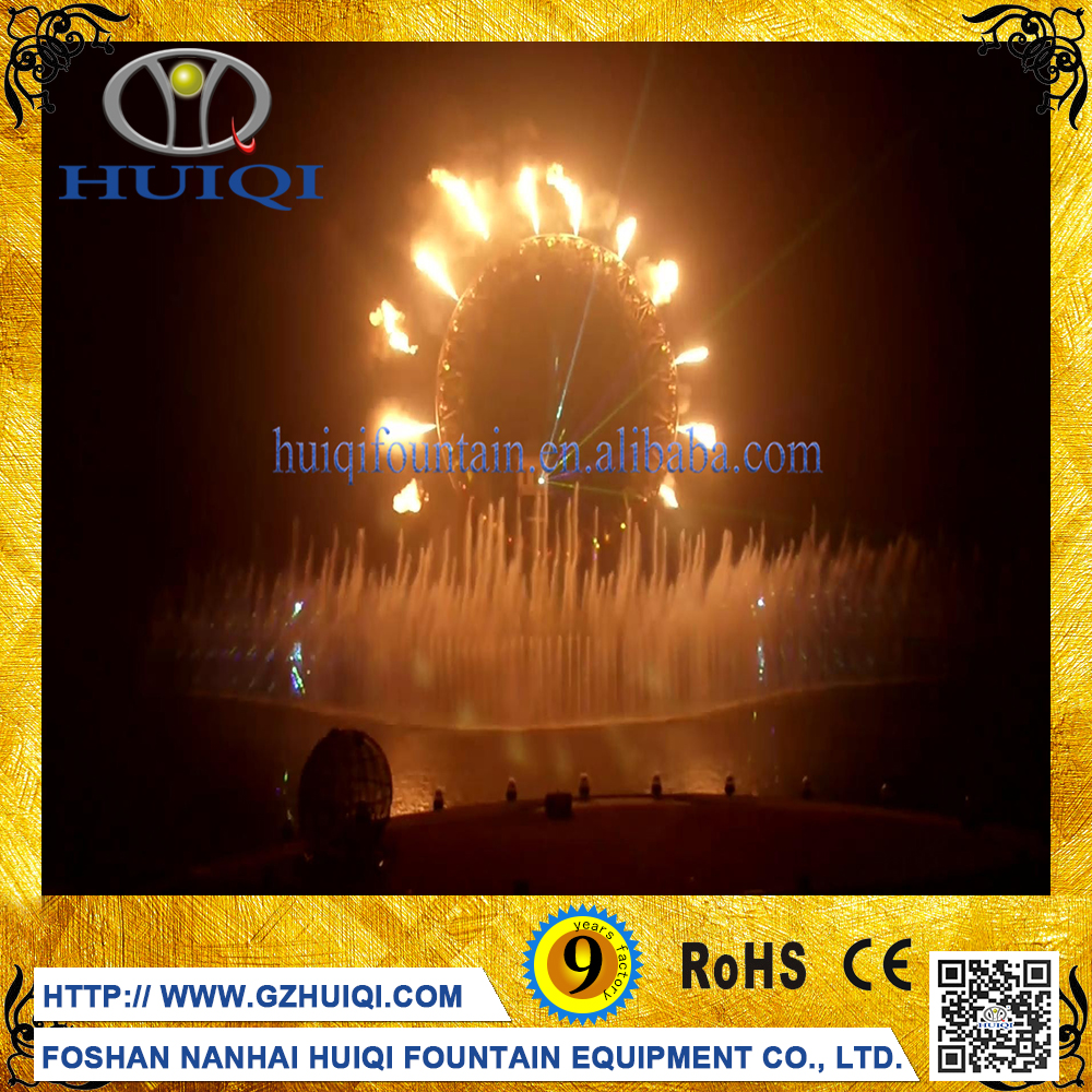 Customized Music Dancing Water Curtain Fire Mist Spray Nozzle for Fountains
