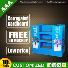 Luxury Pallet Display Shelf For Cake POP Display Stand For Wedding