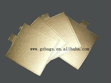 Gold silver foil laminated cake bases