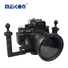 2016 latest Meikon underwater case/outdoor camera housing for Canon 80D