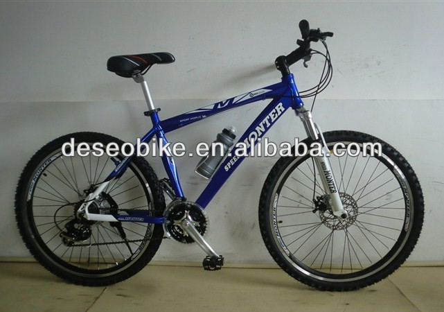 DESEO Steel Frame Mountain Bike