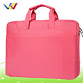 Pink 600D polyester laptop bag for lady