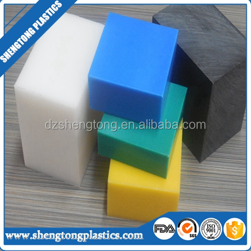 Colored high density PE plastic board from shengtong plastics