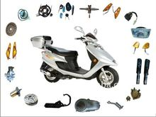 Scooter QINGQI HJ125-11 parts