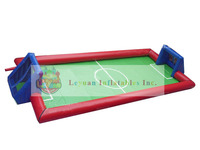 Hot sale Inflatable interactive sport field,soccer games,inflatable foosball
