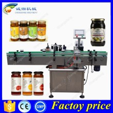 Good price tin can labelling machine