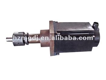 Motor with coupling