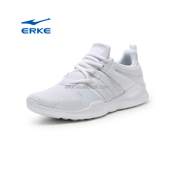 new 2017 simple mesh plain white lightweight breathable summer lace up flat man sport running shoes