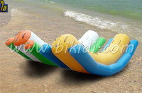 Hot selling inflatable water seesaw, inflatable totter for water sports D3019