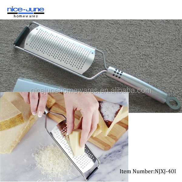 Very Sharp Stainless Steel Blade with No-slip Foot Fine Wide Grater