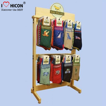 PVC Signage Table Top 2-Way Wood Display Units For Retail, Portable Point Of Sale Display Units