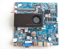 ITX- industrial motherboard 1037 in HM65 chipset with 5COM/ LPT /SIM / LVDS /DC JACK /1037U industrial motherboard POS