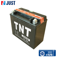 Best quality 18ah 12v lead acid rechargeable motorcycle battery