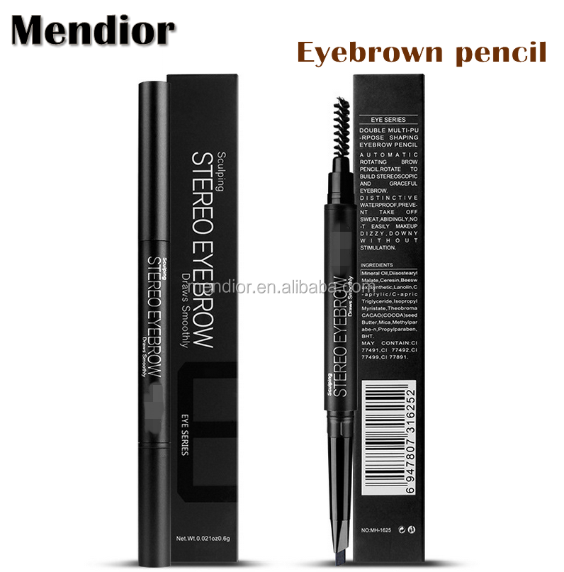 Mendior High quality Cosmetics art eyebrow pencil permanent eyebrow waterproof &Long Lasting pencil