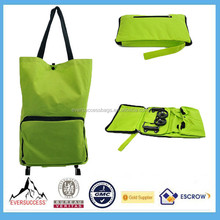 Foldable Shopping Trolley Wholesale Rolling Tote Bag Wheels Women Messenger Bags