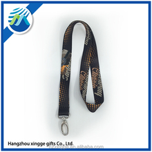 Customized Advertising Polyester Lanyard For Promotion with Logo
