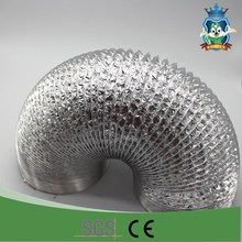 HVAC system all sizes air conditioning heat resistant round aluminum foil flexible duct