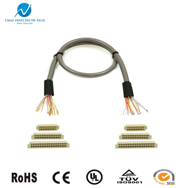 40 pin lcd led lvds cable connector