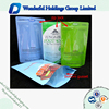 Custom printed zipper plastic bag ziplock foil bag / ziplock aluminium foil bag resealable plastic container