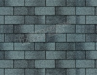 Colored 3 tab Architectural Asphalt Roof Tile , Butimen Shingles