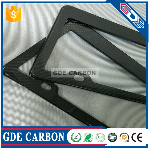 3k the international dimension carbon fiber license board frame