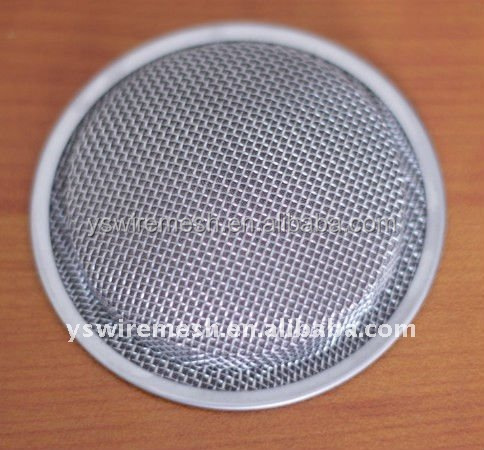 sintered stainless steel filter disc / flat steel disc filter / round disc water filter