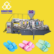 Automatic Rotary PVC PCU Slippers Making Machine