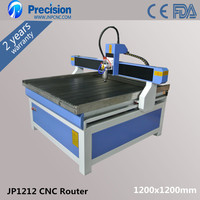 cnc router with rotary attachment for cylinder JP1212