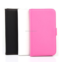 Cell phone smart wallet leather cover for Nokia lumia 532
