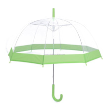 Advertising POE Clear Transparent Wholesale Cheap Umbrellas