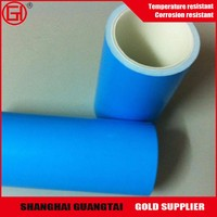 Double-sided silicone coated blue plastic PET release film