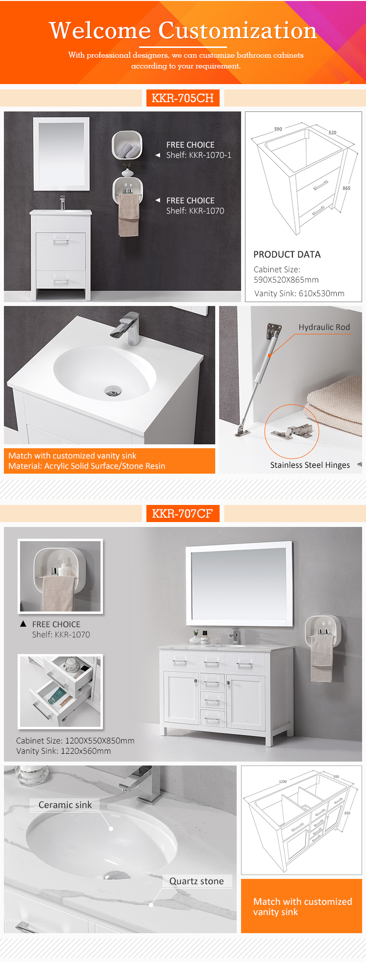 manufacture wholesale italian artificial stone bathroom vanity