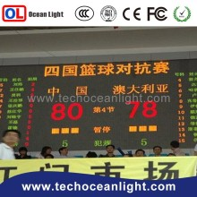 basketball scoreboard with shot clock led stadium tv display screen advertising screen digital led display