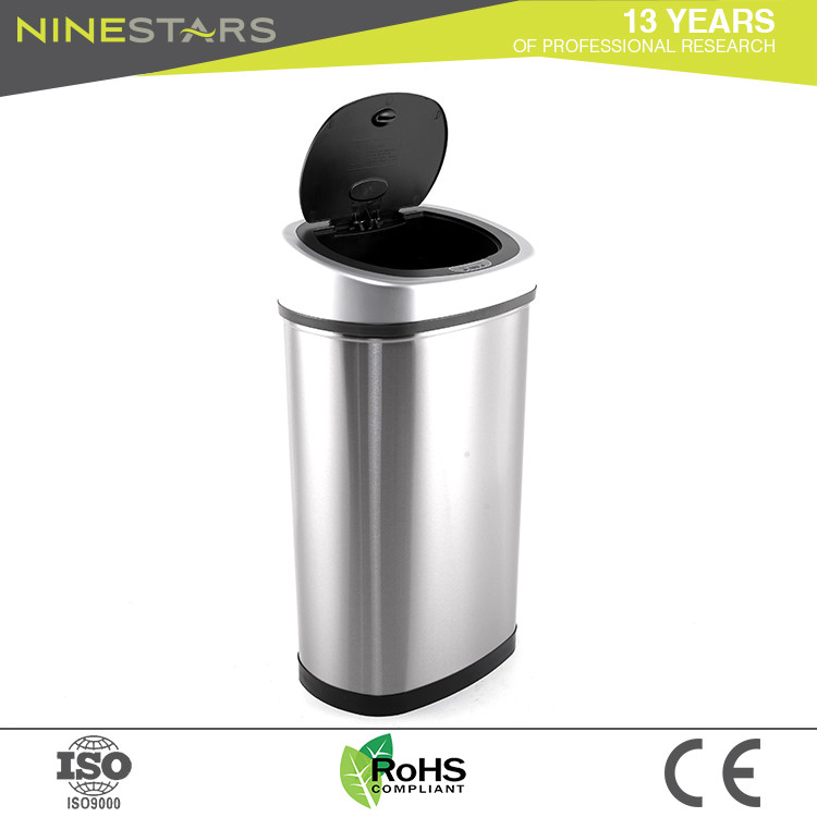 Ninestars Best Quality Garbage Can Outdoor Trash Office Storage Bin