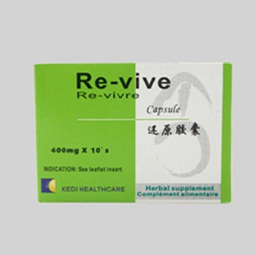 Re-vive Herbal Capsules(Trial Pack)