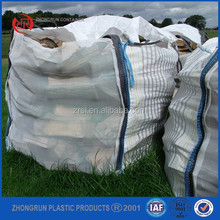 Vented firewood big bag with mosquito mesh and ventilated stripes,PP bag for wood with breathable feature