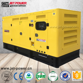 Silent 90kw 100kw 120kw 150kw diesel electric generator set with daily fuel tank