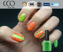 CCO pop new york nail polish gel uv 1kg Soak Off private label nail polish