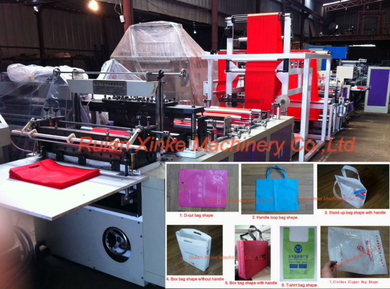 woven bag automatic cutting and sewing machine (XKLT-600)