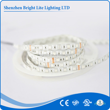 60leds per meter DC12V Yellow Color SMD 5050 underwater led light strip