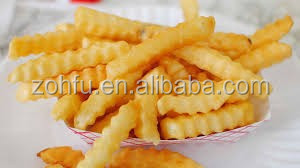 Complete line frozen french fries machinery/potato chips making machine price/french fries line