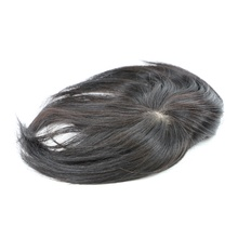 Factory wigs human synthetic hair system men toupee